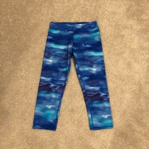 RBX Women's Cropped Tie-Dye Leggings
